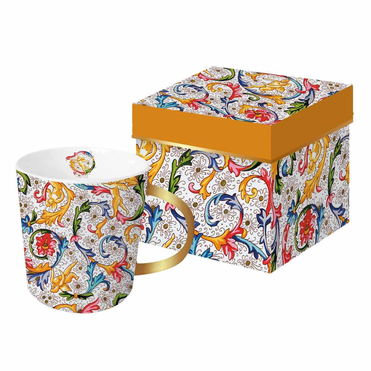 Šolja u poklon kutiji FIORENTINA REAL GOLD
