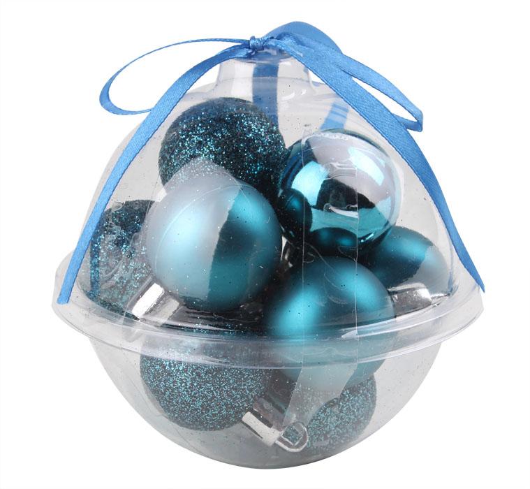 Novogodišnje kuglice Plave