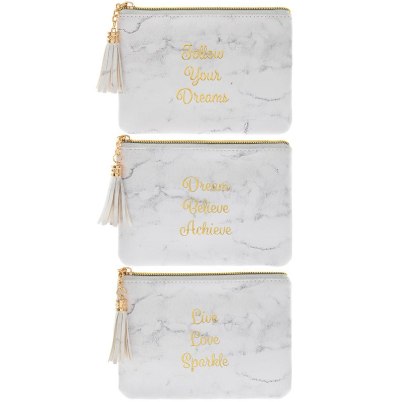 Mermerno beli novčanik 3 vrste