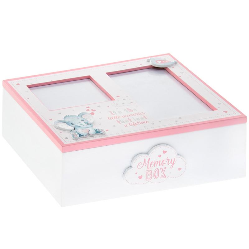 Ukrasna kutija roze BIRD & ELLIE KEEPSAKES