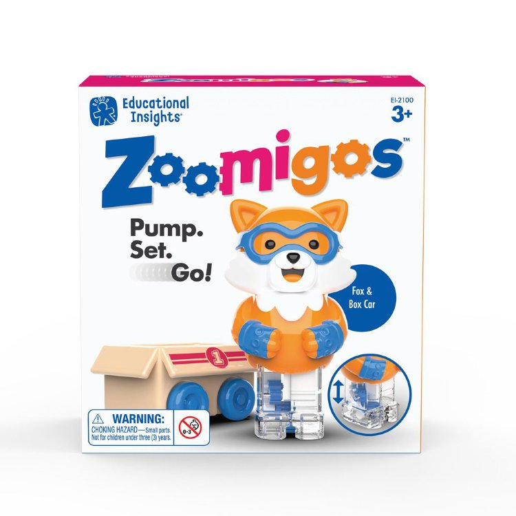 Igračka ZOOMIGOS FOX & BOX CAR