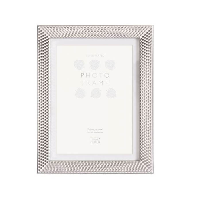 REGENCY SILVER PLATED 20X25CM/10X8 WITH MOUNT FOR 15X20CM/8X6 PHOTO