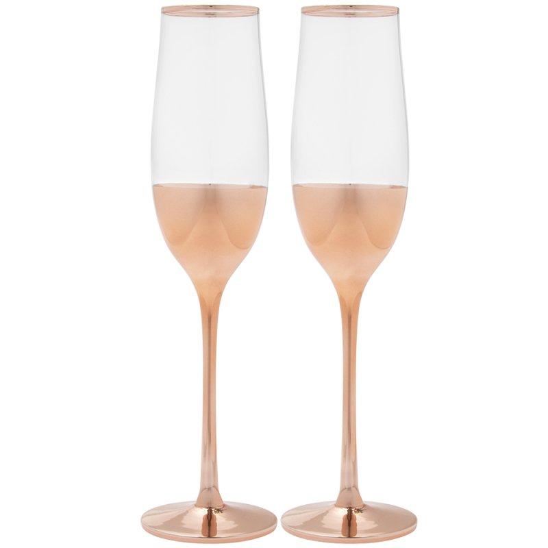 Rose gold čaše