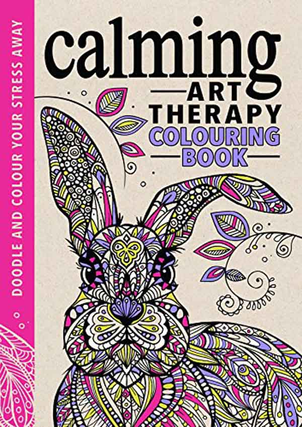 ART THERAPY CALMING COLOURING BOOK