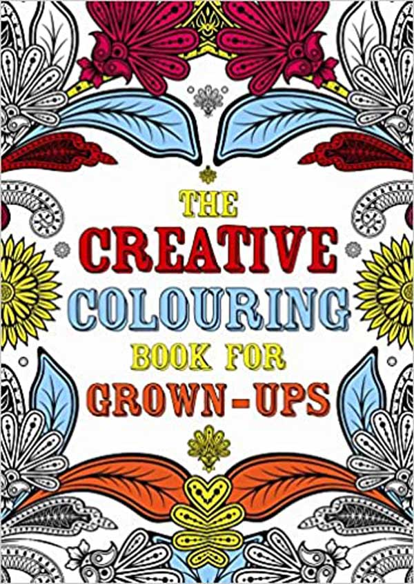 ART THERAPY Creative Colouring Book for Grown ups