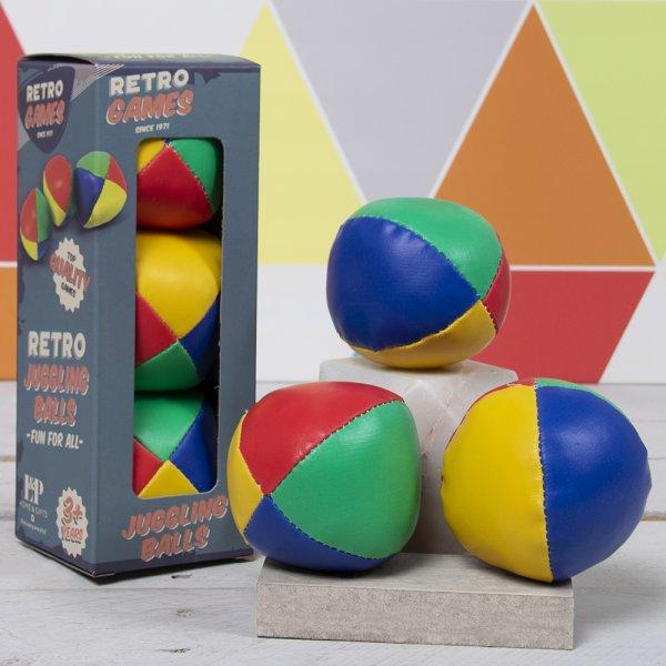 Loptice za žogliranje RETRO 3 kom