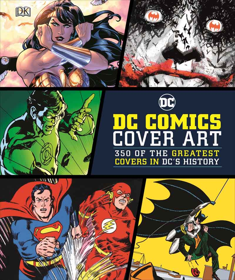DC COMICS ART COVER 350 of the Greatest Covers in DCs History
