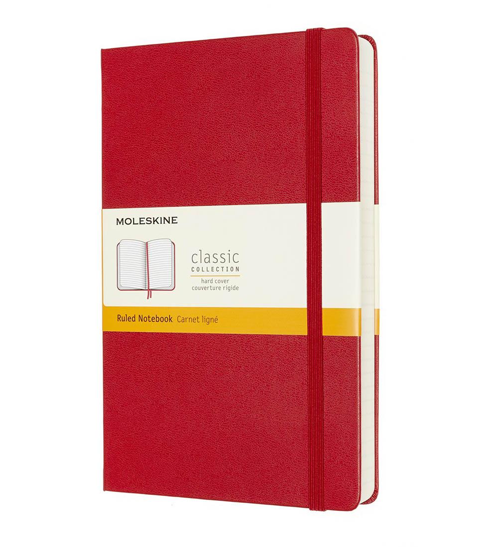 Notes A5 MOLESKINE Classic Soft, crveni TP