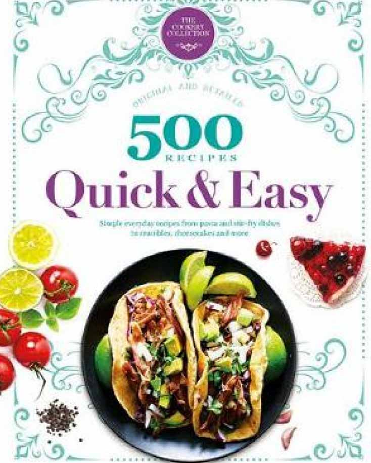 500 RECIPES QUICK AND EASY