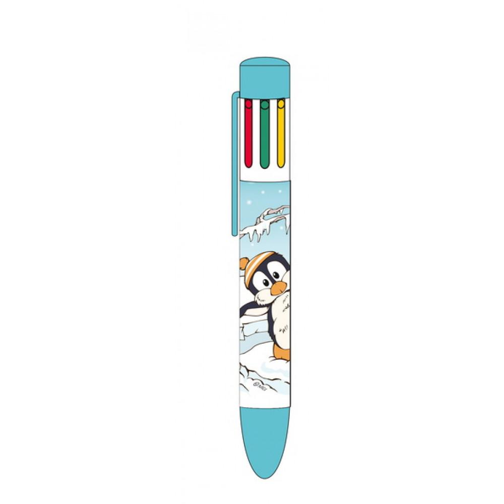 Hemijska olovka sa mastilom u više boja WINTER ADVENTURE