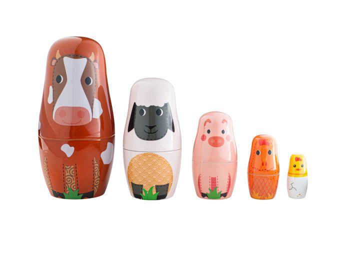 Dečija igračka RUSSIAN DOLLS Farm Animal