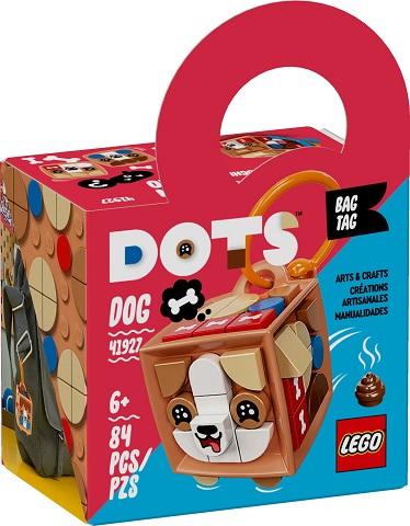 Igračka Lego kocke bag tag dog, Friends, 6g+