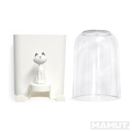 Držač za Četkice TOOTHBRUSH HOLDER KITTY WHITE PLASTIC