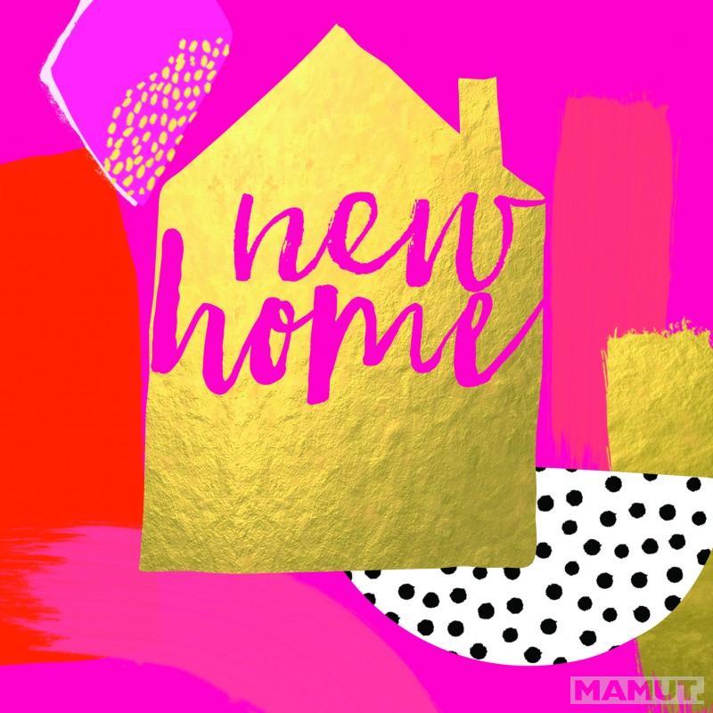 Čestitka BLUSH NEW HOME