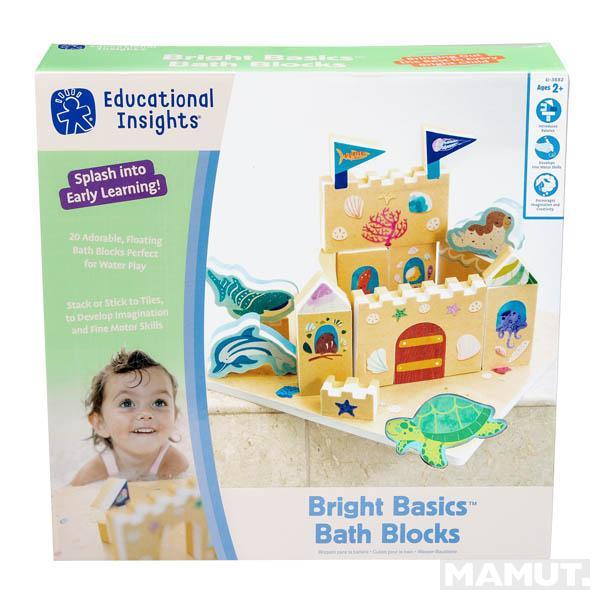 Igračka BRIGHT BASICS BATH BLOCKS