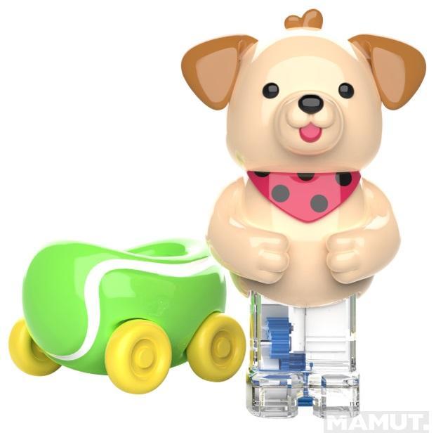 Igračka ZOOMIGOS PUPPY & TENNIS BALL CAR