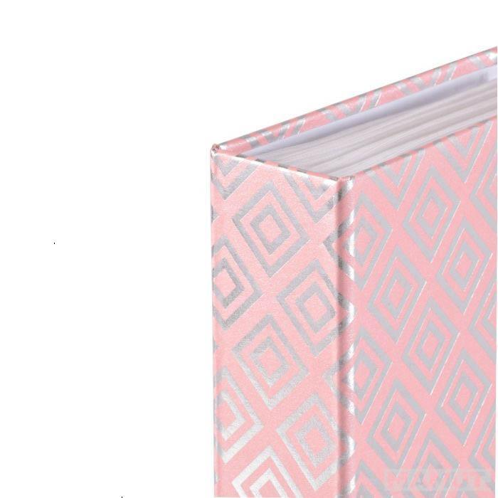 DIAMONDS BLUSH PINK SLIP-IN ALBUM 160X 10X15CM PHOTOS