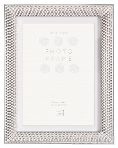 REGENCY SILVER PLATED 15X20CM/8X6 WITH MOUNT FOR 10X15CM/6X4 PHOTO