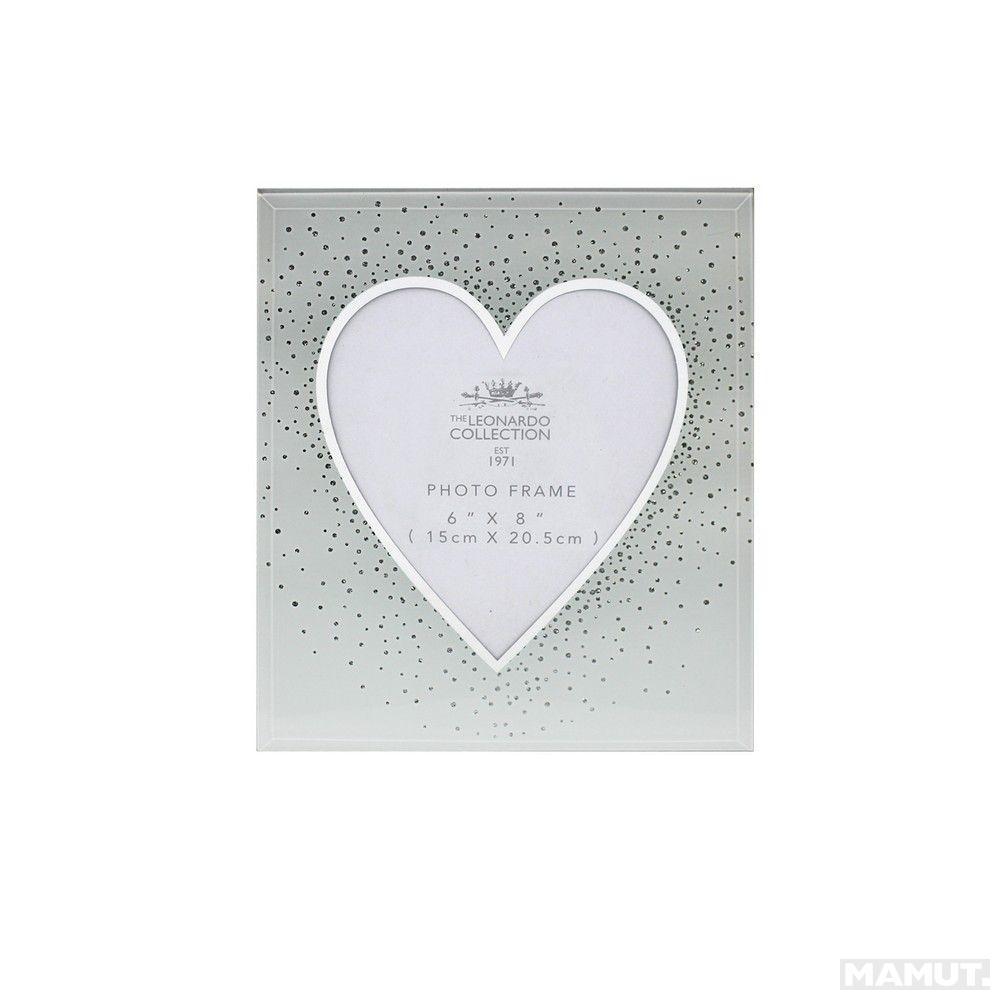 Ram za slike 15x20.5 HEART & SILVER