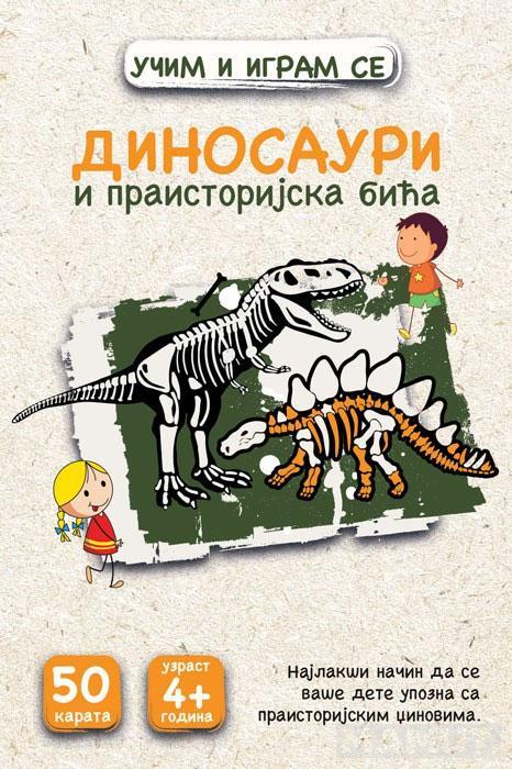 KARTE Dinosauri i praistorijska bića