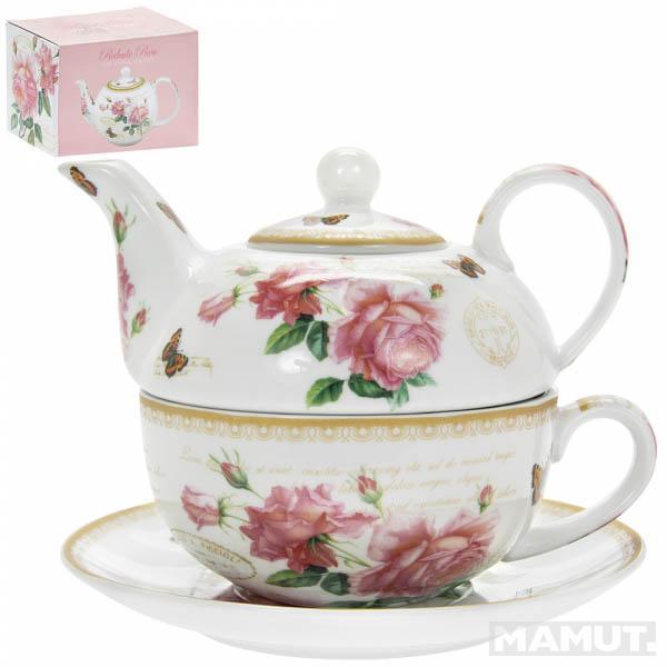 Šolja i čajnik REDOUTE ROSE
