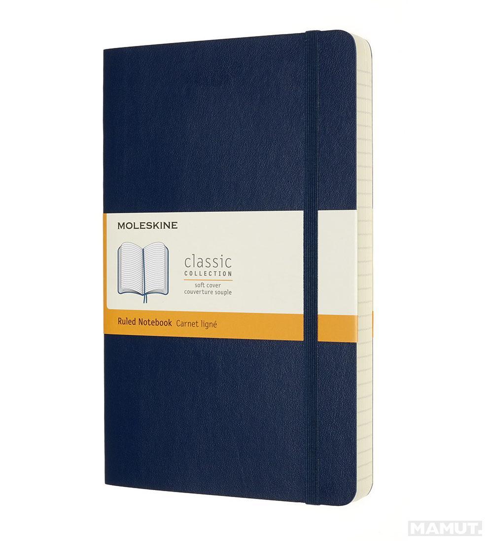 Notes A5 MOLESKINE Classic Soft, plavi