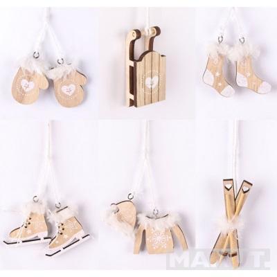 Novogodišnji ukrasi drveni