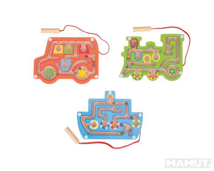 Dečija igračka WOODEN MAGNETIC LABYRINTH