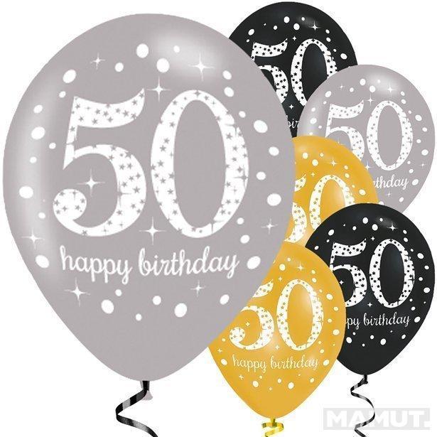BALONI HAPPY BIRTHDAY 50