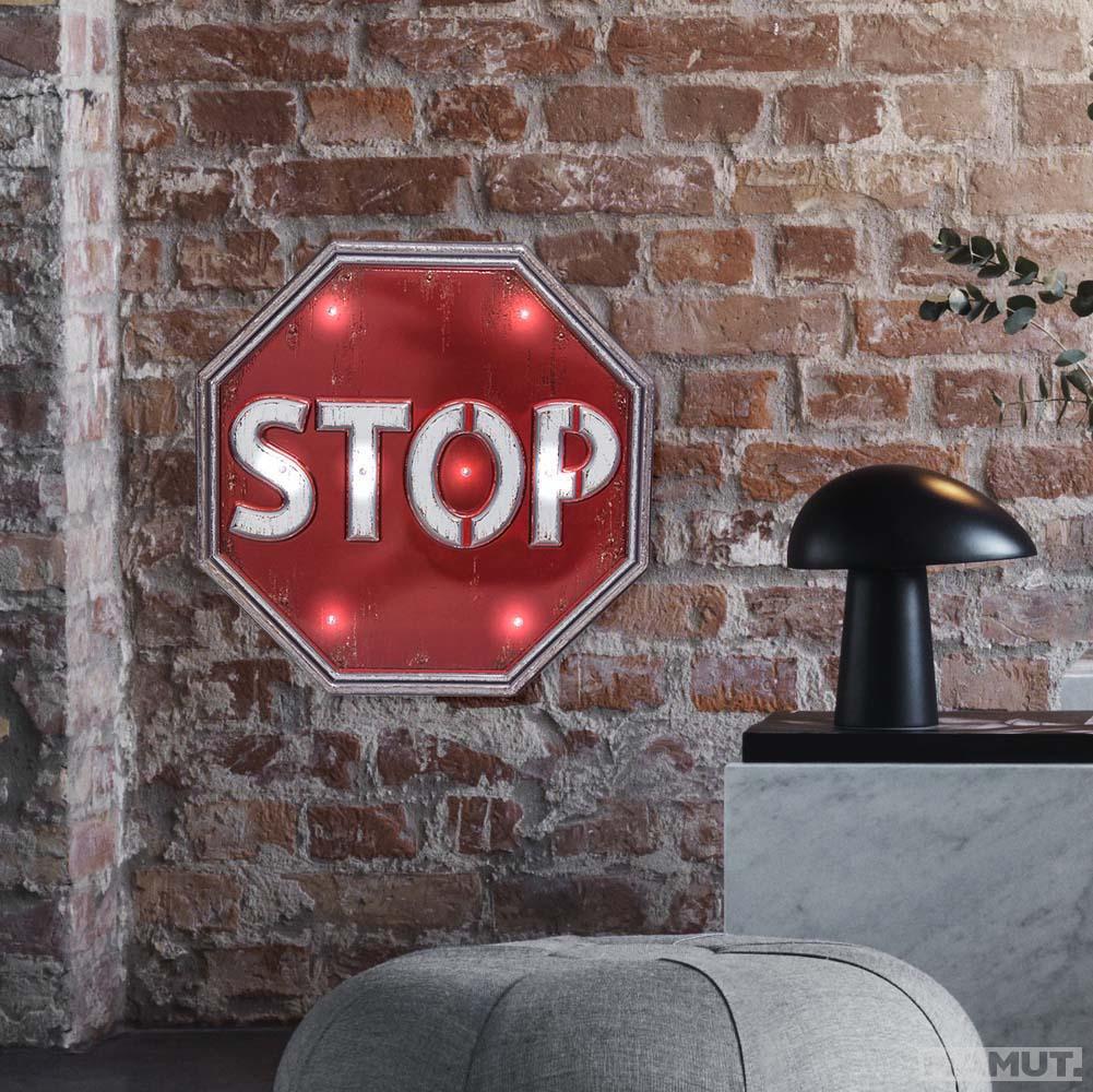 Zidna dekoracija ZNAK STOP